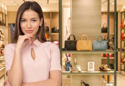Female Shop Bags